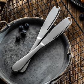 【厨房配件】不锈钢黄油刀西餐面包果酱刀牛油奶酪刀芝士刀