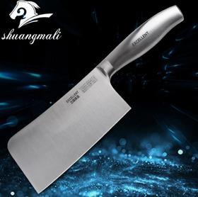 【刀具】厨用刀 厨房不锈钢砍骨刀4cr13斩骨刀