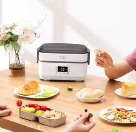 【电器】电热饭盒自动加热保温可插电迷你上班族双层蒸饭带饭