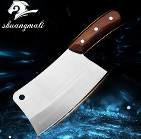 【刀具】厨房砍骨刀 锻打不锈钢刀具