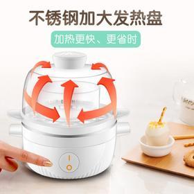 【电器】双层煮蛋器多功能蒸蛋器迷你自动断电早餐机煮蛋机