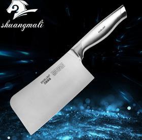 【刀具】斩骨刀 不锈钢厨房砍骨刀4c13一体成型厨用刀