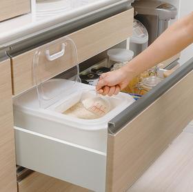 【厨房配件】日本进口inomata密封米桶6KG防虫储米箱家用米缸