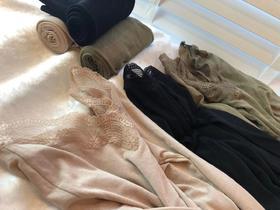LC东洋纺蕾丝轻奢发热内衣套装