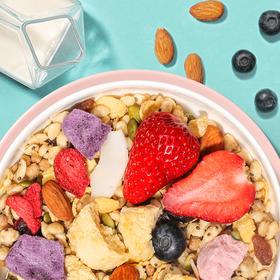 奇亚籽谷物酸奶水果麦片 | 松脆鲜香不长胖,一口吃尽多重营养