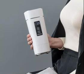 韩国大宇旅行电热水杯 能烧水的保温杯 轻便小巧