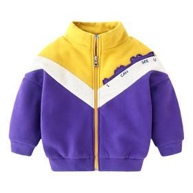 【预售:7-10天发货】新款男童加厚开衫卫衣外套