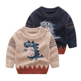【预售:7-10天发货】儿童卡通套头毛衣