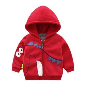 【预售:7-10天发货】儿童加厚连帽卫衣外套