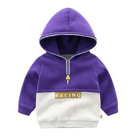 【预售:7-10天发货】新款儿童加厚连帽卫衣