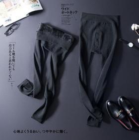 【男装】.考拉绒男士加绒加厚保暖一体裤修身保暖打底裤