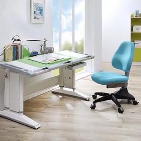 35年专注人体工学!台湾康朴乐 1.2米宽科隆学习桌+椅套装!可升降可倾斜,新款,性价比高,多色可选!中国350 + 家店!