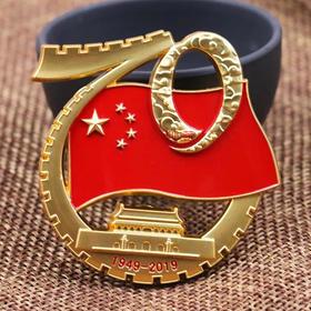 70周年阅兵徽章