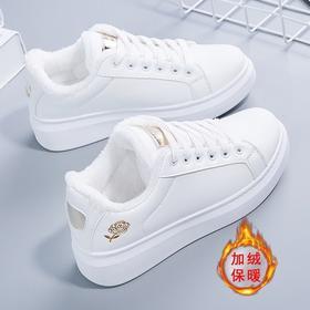 HFXY-A-1811新款百搭平底爆款白鞋TZF