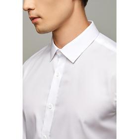 墨麦客男装2019冬季新款长袖白衬衫男潮流纯棉宽松免烫衬衫5488