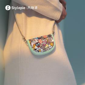 风格派暖小包充电暖手宝 应急充电宝 挎包设计 2挡温度 5000mA大容量 双面发热