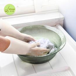 【用不烂的手套,加绒不冻手】宾卡加BIKAGA橡胶植绒手套  防滑、耐割  家务清洁必备