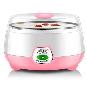 【酸奶机】.小家电分杯酸奶机纳豆米酒机 1升不锈钢家用迷你恒温酸奶机全自动