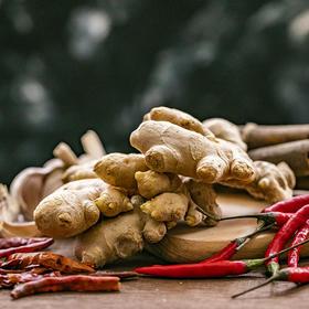 云南文山新鲜小黄姜 | 姜味浓郁 手工采摘 肉紧实味香浓 面色金黄 姜丝密集 现挖现发