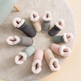 朴西加厚高帮棉拖亲子款 | 超轻超软,一穿就暖脚,秋冬必备