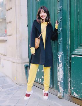 预订 Maison Covet 羊绒系列 双面羊绒短款外套
