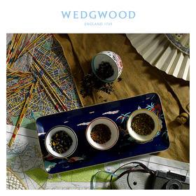 【WEDGWOOD 漫游美境】玮致活漫游美境8cm礼品小碗4件组骨瓷欧式茶碗礼盒套装