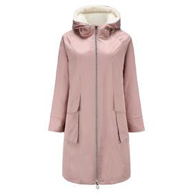 预定 Covet 自有品牌 多种穿法双面风衣进口水貂皮草外套