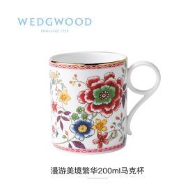 【WEDGWOOD 漫游美境】玮致活漫游美境骨瓷马克杯水杯咖啡杯欧式杯子家用