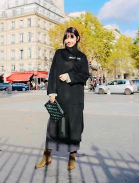 预订 Maison Covet 羊绒系列 双面羊绒长款大衣