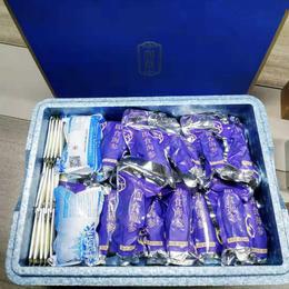 【半岛商城】三斤即食海参礼盒装 赠15袋参鲍汁 加赠大健康体检1次 购2组再送近郊游一次 顺丰省内包邮