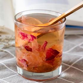 植物界的红宝石玫瑰花酱 花香四溢 色泽红润 唇齿留香 140g*2瓶