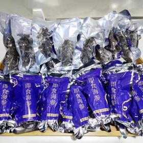 【半岛商城】1月限时8折参王阁即食海参8斤家庭装 赠4袋扇贝丁 顺丰省内包邮