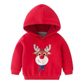 【预售3-5天发货】儿童圣诞款加厚卫衣