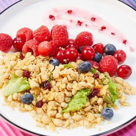 【临期】家乐氏谷兰诺拉蔓越莓缤纷水果麦片400g/袋即食谷物营养早餐麦片