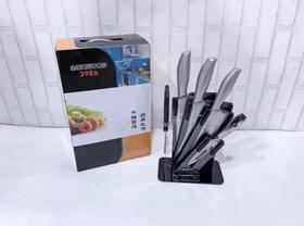 【刀具】不锈钢刀具套装 菜刀套装家用 礼品套刀厨房刀具6件套
