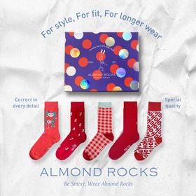 Almond Rocks原创设计袜礼盒 │ 明星都爱穿的花袜子,轻松穿出时髦个性
