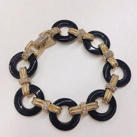 CINER New York  复古环形装饰手链