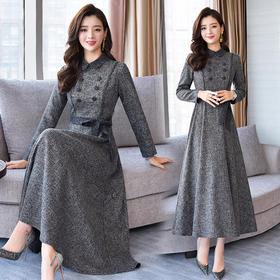 CQ-swcs906新款百搭简约知性优雅连衣裙TZF