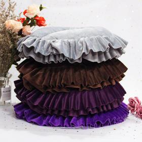 趴枕 紫罗兰咖色中紫灰色