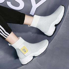 SLW6875\新款高帮百搭流行瘦瘦鞋TZF