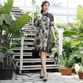 DLQ-W2208新款秋季新式现代时尚连衣裙TZF