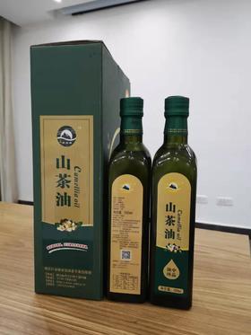 【茅箭电商节】丨湖北家家富农业丨山茶油普通礼盒装500ml*2瓶