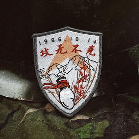【老山军魂】攻无不克战斗纪念臂章
