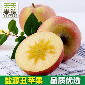 四川大凉山盐源丑苹果8斤冰糖心苹果红富士新鲜水果