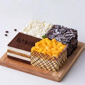 【茅箭电商节】四重奏蛋糕   900g