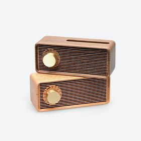 良白原木八音盒 | 一个=八音盒+扩音箱+手机支架