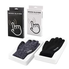 触屏保暖 • 简约时尚百搭 • 针织加绒防滑手套