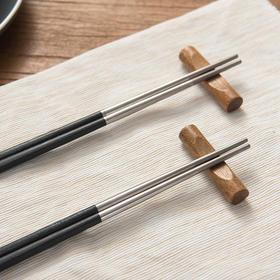 博友制钛微晶钛筷 | 真抗菌防霉,99.5%纯钛+碳合金