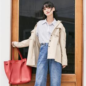 【可授权】日本MARS SHARING小众品牌水桶包2018秋冬新款百变手提购物托特包