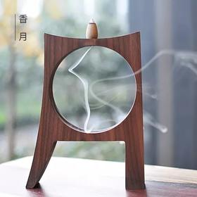 香炉创意倒流香炉摆件小香炉家用室内茶道薰香炉线香插